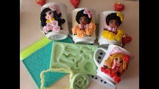 Download Caneca sugestão dia das mães com molde fofurinha Bia Cravol Video
