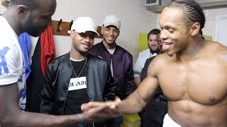 Download THE BEAST ANTHONY YARDE KNOCKS OUT FERENC ALBERT IN 1 ROUND - PERFORMS FLIP-YARDOSS HANDSHAKE 2000 Video