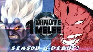 Download One Minute Melee S4 EP1 - Oni vs Kenpachi Round 3 (Street Fighter vs Bleach) Video