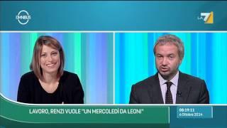 Download Omnibus - Borghi: In Italia manca il lavoro e la domanda, discussione su art.18 è inutile Video