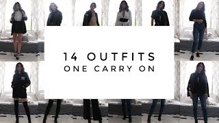 Download How To Pack A Carry On - 14 Outfits In Your Suitcase | Aja Dang Video