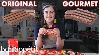 Download Pastry Chef Attempts To Make Gourmet Kit Kats | Gourmet Makes | Bon Appétit Video