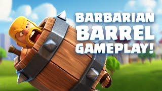 Download Clash Royale: Barbarian Barrel Gameplay Reveal! (New Card!) Video