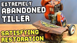 Download ABANDONED RUSTY TILLER SATISFYING RESTORATION Video