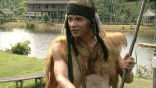 Download Iban Tribes Warriors of Sarawak, Malaysia by Asiatravel Video
