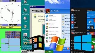 Download History of Microsoft Windows (Windows 1.0 - 10) Video