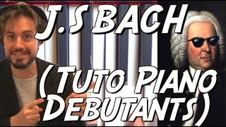 Download Tuto piano classique facile débutants - Prélude n°1 en C de J.S Bach Video