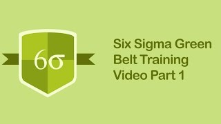 Download Six Sigma Green Belt Training Video | Six Sigma Tutorial Videos Part 1 Video