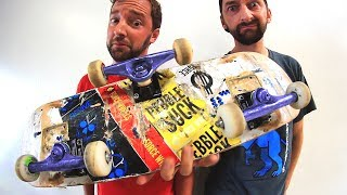 Download THREE TRUCK ″TRICYCLE″ SKATEBOARD | STUPID SKATE Video