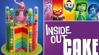 Download INSIDE OUT Cake   Disney Inside Out Rainbow Cake   My Cupcake Addiction Video