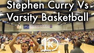 Download Stephen Curry Vs Varsity Basketball Team Video
