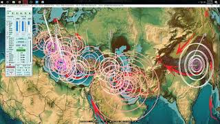 Download 3/20/2018 - New Midwest USA Earthquake - Fracking ops hit again - Seismic progression across area Video