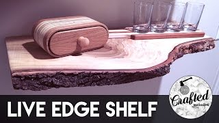 Download Live Edge Shelf How-To | Crafted Workshop Video