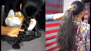 Download Long to Short : 18 Inch Long Braid and 20 Inch Ponytail Chopped for Donation Video