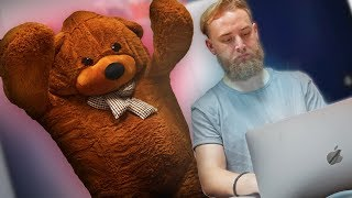 Download Scaring My Coworkers In A GIANT Bear Suit! *Hilarious* Video