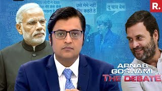 Download Congress Insults PM Modi - Should Rahul Gandhi Apologize? | The Debate With Arnab Goswami Video