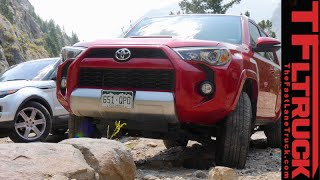 Download Toyota 4Runner vs Range Rover Evoque Off-Road Mashup Review (Part 2 of 2) Video