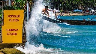 Download PARTY WAVES & BOARD TRANSFERS IN HONOLULU Video