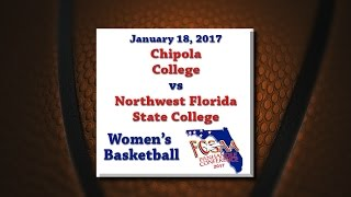 Download Panhandle Conference 2017 - Chipola @ NWFSC - January 18, 2017 - Women's Basketball Video