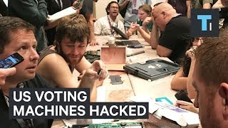 Download Def Con hackers made quick work of electronic voting machines Video