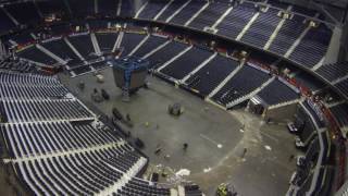 Download Incredible Time Lapse Shows 7 Events In 8 Days at Philips Arena Video