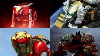 Download Power Rangers summon the Lion Zords | Mighty Morphin - Ninja Steel | Neo-Saban Superheroes Lions Video