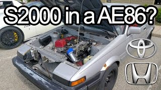 Download Toyonda 86. S2000 Powered AE86 Corolla - Go Kart For The Streets? The AE2000 Video