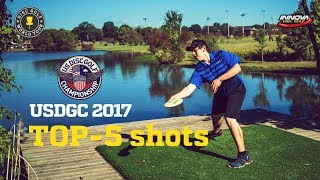 Download Top-5 shots of US Disc Golf Championship 2017 Video
