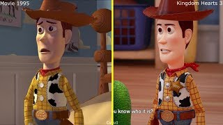 Download Kingdom Hearts III - Toy Story Game 2017 vs 1995 Movie Comparison Video