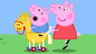 Download Kids Videos | Peppa Pig and George Pig's Day Out | Peppa Pig Official | New Peppa Pig Video