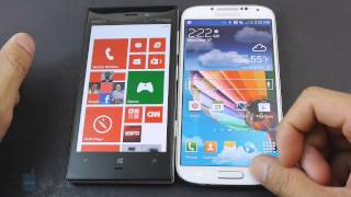 Download Nokia Lumia 928 vs Samsung Galaxy S4 Video