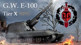 Download World of Tanks - G.W. E-100 (Ace tanker) ″Nežiadúci delostrelecký bonus″ Video