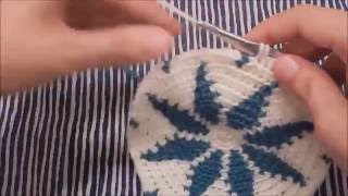 Download Step-by-Step Snowflake Tapestry Crochet Base - Part 1 Video