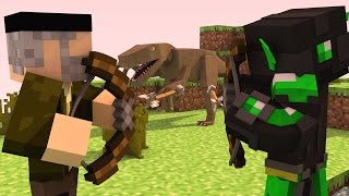 Download Minecraft | DINOSAURIOS!! | Minijuego SKYWARS TEAM Video