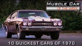 Download 10 Quickest Cars of 1970: Muscle Car Of The Week Episode #201 Video