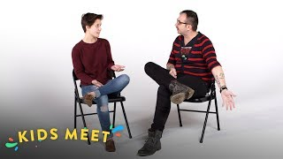 Download Kids Meet A Gay Conversion Therapy Survivor | Kids Meet | HiHo Kids Video