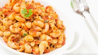 Download Indian Style Macaroni Pasta Recipe | Kids Lunch Box / Indian Style Recipes Video