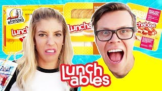 Download Eating only Lunchables for 24 hours Challenge! Video