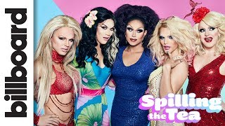 Download 'Spilling The Tea': The Queens Kiki on Performing as Drag Artists | Billboard Video