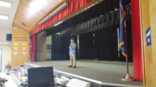 Download Me telling jokes in front of my whole school Video