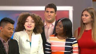 Download CBS News interns present winning project Video