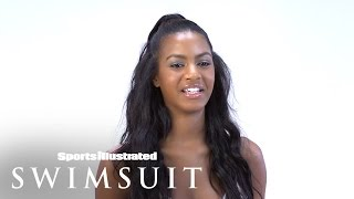 Download Ebonee Davis Plays ″Rapid Fire Questions″ | Sports Illustrated Swimsuit Video