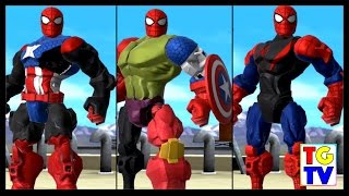 Download Marvel Super Hero Mashers Spider-Man (Battles Edited) | Mix + Smash Video