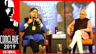 Download Exclusive : Shashi Tharoor Vs Vinay Sahasrabuddhe On Hinduism & Hindutva | India Today Conclave 2019 Video