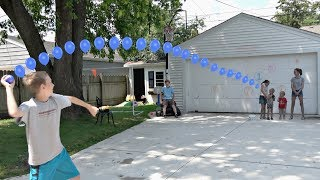 Download Water Balloon Throwing Challenge! | That's Amazing Video