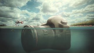 Download Under Water Camera | Photoshop Manipulation Tutorial Video