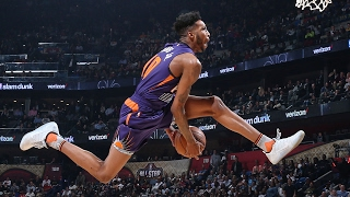 Download Derrick Jones Jr. Full Highlights: 2017 NBA Slam Dunk Contest Video