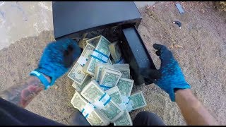 Download FOUND SAFE FULL OF MONEY! Video