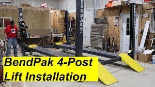 Download BendPak 4 Post Lift Install Video