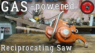 Download Gas Reciprocating Saw [Restoration] Video
